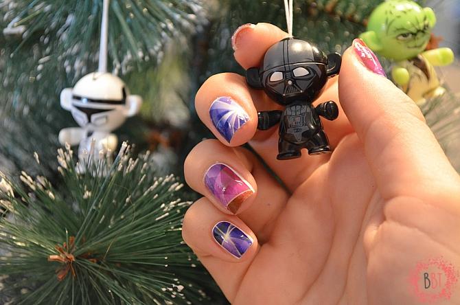 Beauty Bang Theory - Star Wars nails - vodene nalepnice