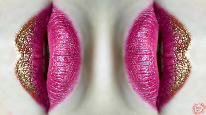 Beauty Bang Theory - metalik usne 2