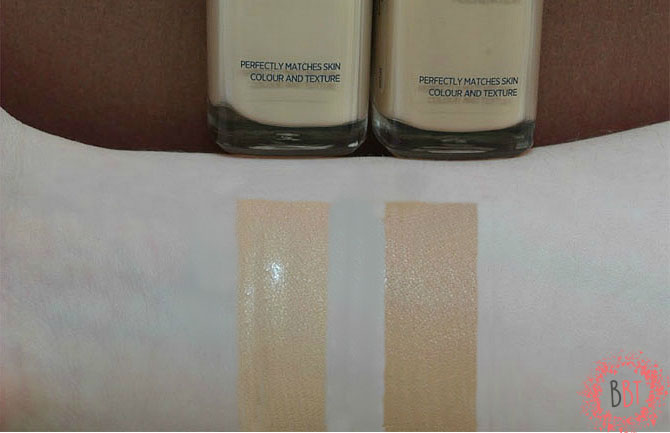 Beauty Bang Theory - L'oreal True Match swatch