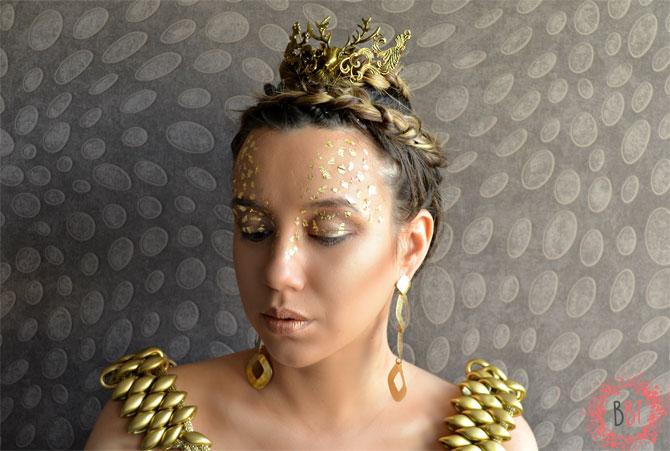 Beauty Bang Theory - The Huntsman - Zlatna kraljica closed eyes