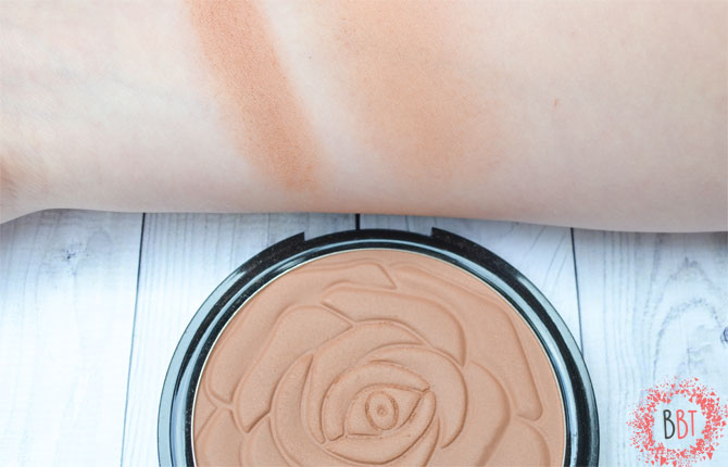 Ingrid HD Beauty Innovation bronzer swatch