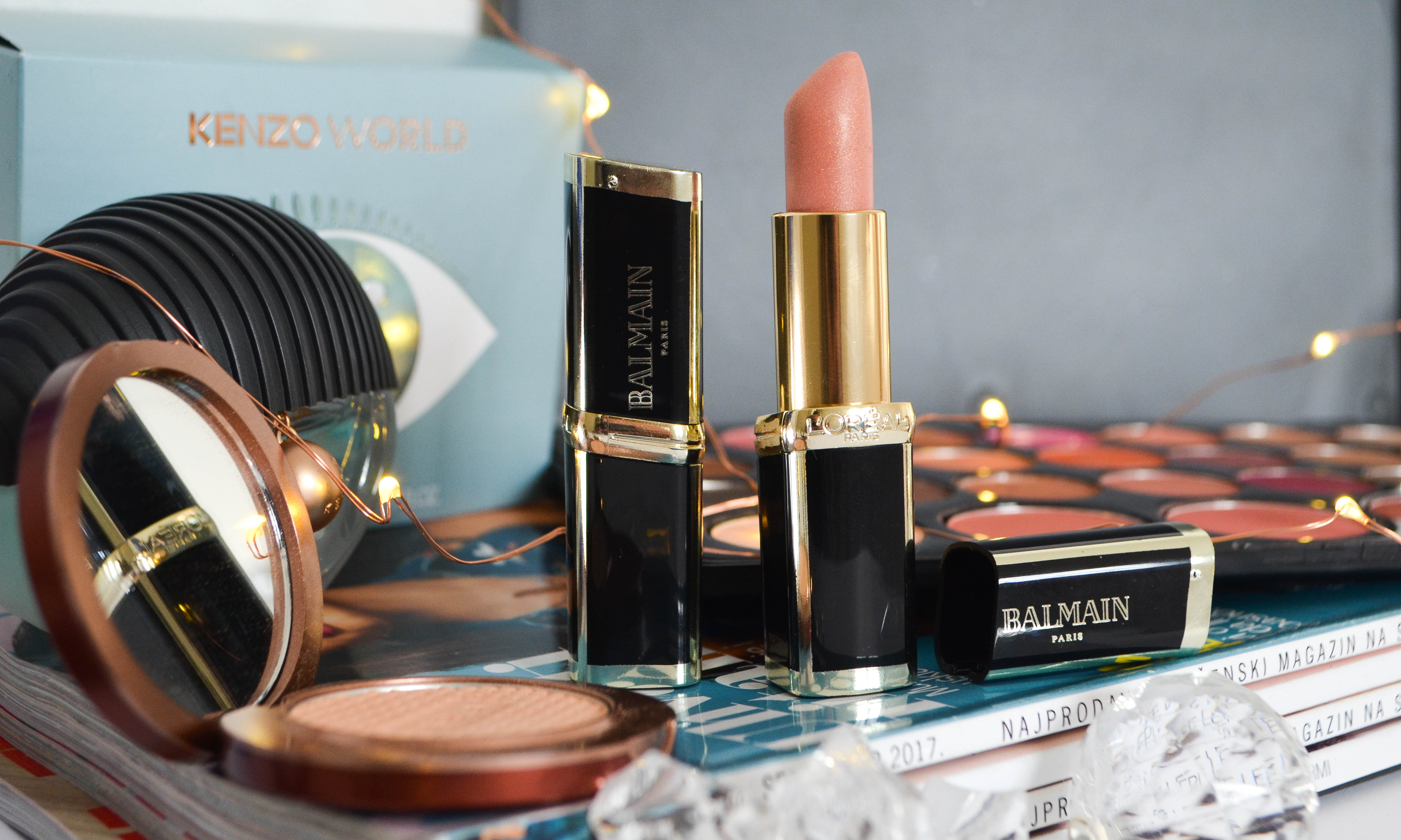 Beauty Bang Theory - Novembarski favoriti 2017 L'oreal x Balmain