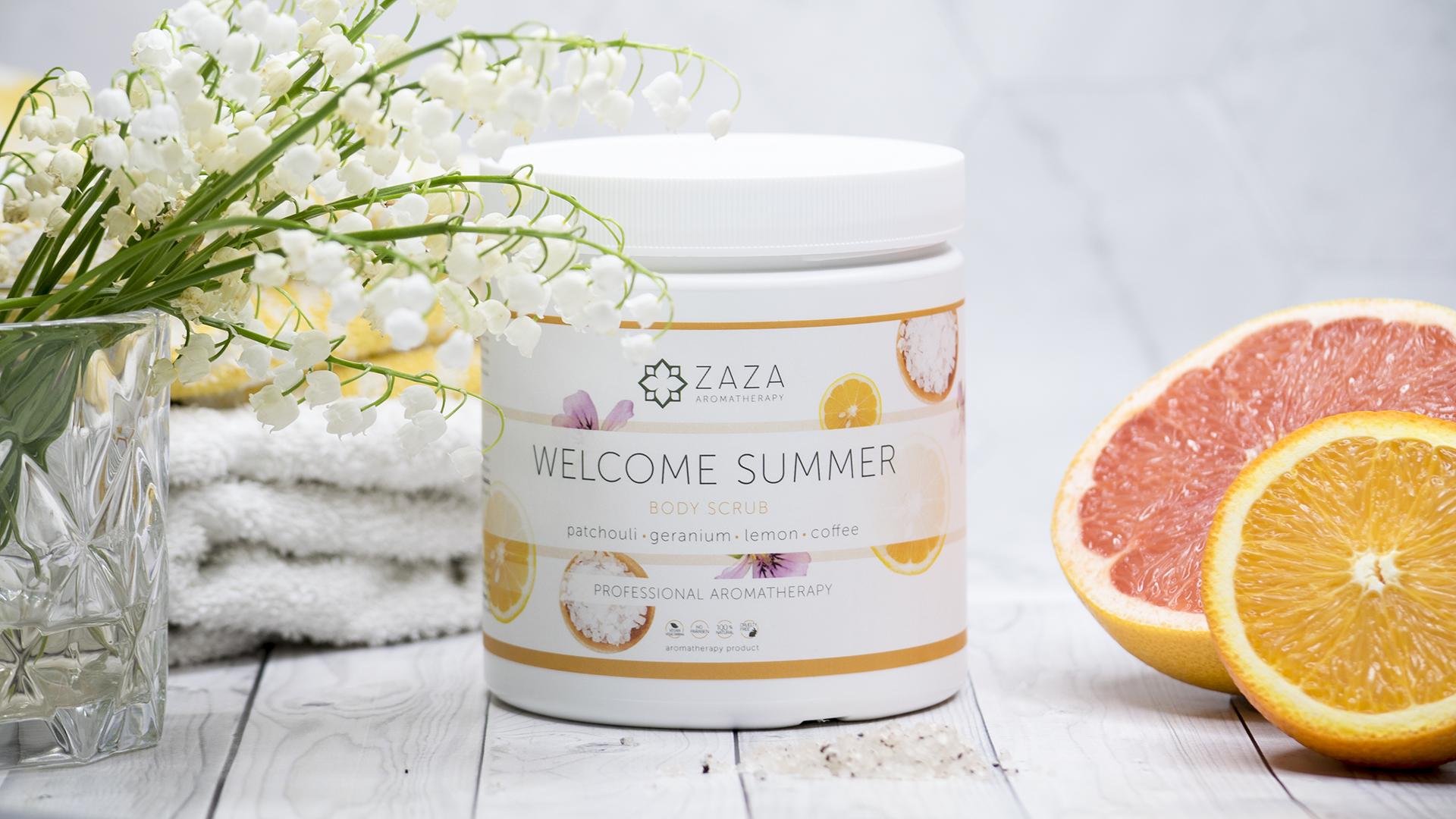 Beauty Bang Theory - Zaza Aromatherapy piling
